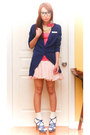 Blue-oversized-long-h-m-cardigan-bubble-gum-tanktop-topshop-top-bubble-gum-f