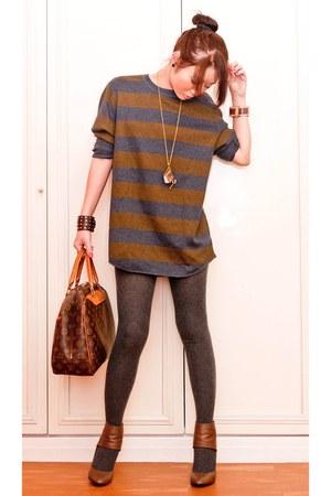 tawny shoeboots Zara shoes - tawny Zara sweater