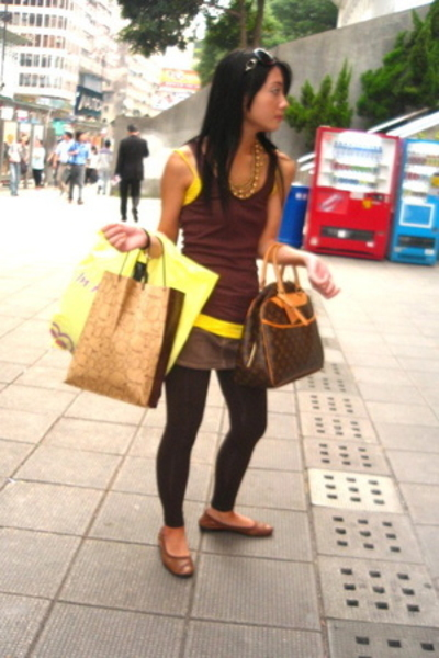 Abercrombie shirt - Topshop shirt - Zara skirt - Zara tights