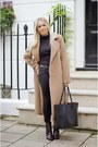 Black-newlook-boots-black-all-saints-jeans-light-brown-missguided-jacket