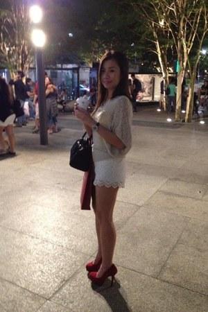 beige lace shorts shorts - crimson velvet material Payless shoes