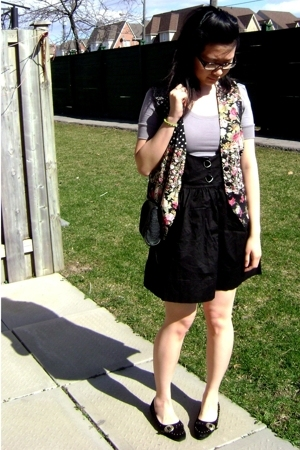 vintage vest - Seduction shirt - from a shop in hong kong skirt - from a shop in