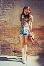 Jeans-romwe-shorts