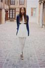 Cream-lace-causewaymall-dress-navy-causewaymall-cardigan-black-felicee-belt