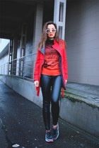 red wholesalebuying coat - red Newdress sweater