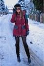 Crimson-bonprix-jacket-black-yoins-skirt