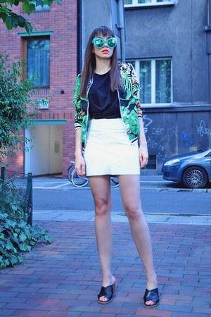 black H&M heels