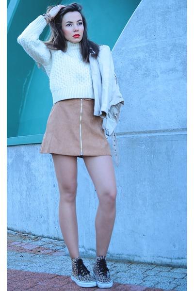 beige Wholesale7 skirt