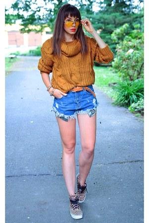 bronze Chicloth sweater