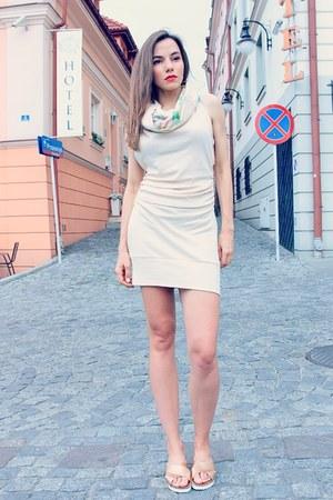 cream OCE eco streetwear dress