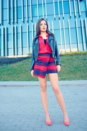red choiescom skirt