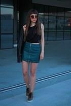 teal StyleWe skirt