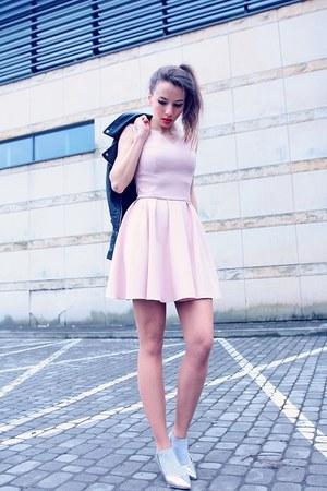 light pink pastel sukienkowo dress