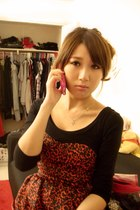 red Forever21 dress