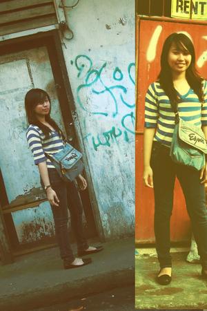 shirt - Levis jeans -
