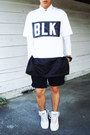 Black-boy-london-hat-black-rolled-up-h-m-shorts-black-stereo-top