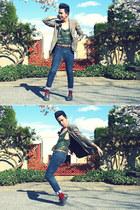 Aldo shoes - Levis jeans - Jones New York blazer - Topman tie