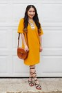 Mustard-forever-21-dress-tawny-from-japan-purse