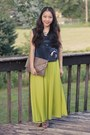 Thrift-store-bag-forever-21-top-from-china-skirt-from-korea-heels