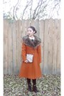 Korea-boots-fur-coat-thrift-coat-leather-tights-rag-stock-tights