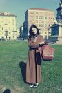 Brown-armani-coat-brown-guia-s-bag-black-creepers-shoes