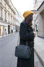 Orange-h-m-hat-forest-green-gerani-coat-tawny-vintage-shoes-navy-chanel-ba