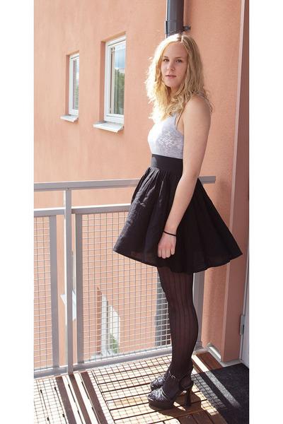 black skirts black shoes blue tops quot june 19th quot by