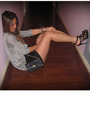 Xhilaration-target-blazer-h-m-top-forever-21-shorts-reiss-shoes-chanel-