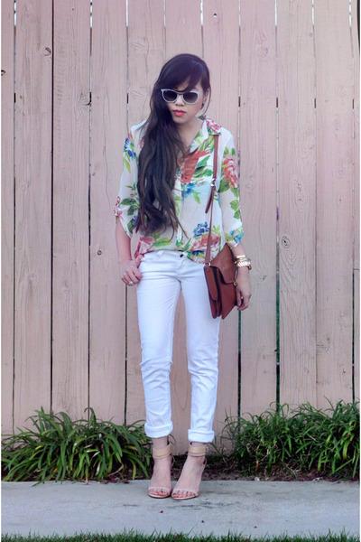 botkier bag - neutral Zara heels