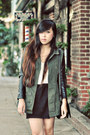 Army-green-topshop-jacket-black-lucky-brand-boots