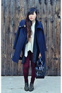 Navy-zara-coat-crimson-zara-leggings-black-duffel-31-phillip-lim-bag