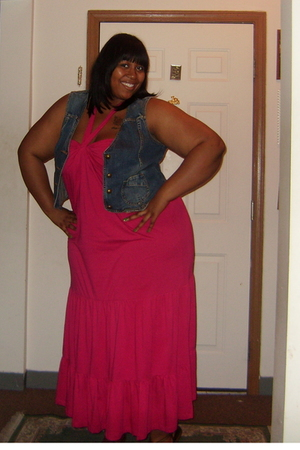 Old Navy dress - Old Navy vest - Chinese Laundry shoes - OPI nail polish
