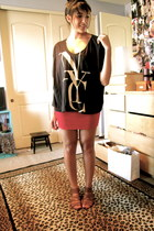 Urban Outfitters shirt - ecote sandals - Urban Outfitters skirt