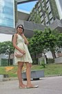 Tan-coach-bag-light-yellow-crochet-dress-zara-dress-black-coach-sunglasses