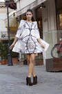 Pony-hair-ilpasso-boots-swing-dress-geeks-stitches-dress
