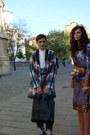 Black-luggage-large-celine-bag-blue-geeks-stitches-blazer