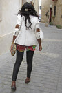 Ruby-red-geeks-stitches-blouse-white-white-blazer-zara-blazer