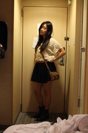 boots - skirt