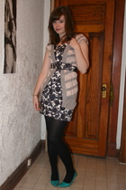 Forever 21 dress - modcloth sweater - shoes