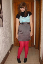 Esley dress - We Love Colors tights - H&M shoes