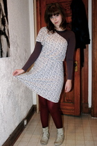 Old Navy dress - Primark shirt - Primark boots