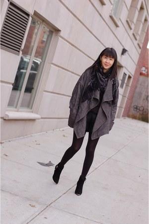 paco coat Isabel Marant coat - ester boots Tabitha Simmons boots