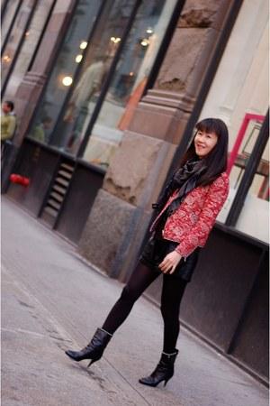 sumac jacket Isabel Marant jacket - ankle boots Chanel boots