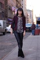 mony Isabel Marant boots - lexy Isabel Marant jacket - mendy Isabel Marant top