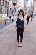 rivera scarf Isabel Marant scarf - ankle length Uniqlo jeans