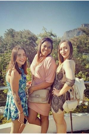 beige YDE dress