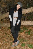 H&M shirt - Forever 21 cardigan - Macys pants - Nordstrom shoes - Thrift Store b