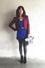 Blue-dress-urban-outfitters-shirt-black-billie-bootie-madewell-boots