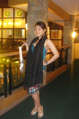 from bangkok dress - from greenhills shoes - coach - from bangkok