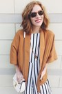 Gold-draped-jacket-forever-21-jacket-ivory-chloe-inspired-forever-21-bag